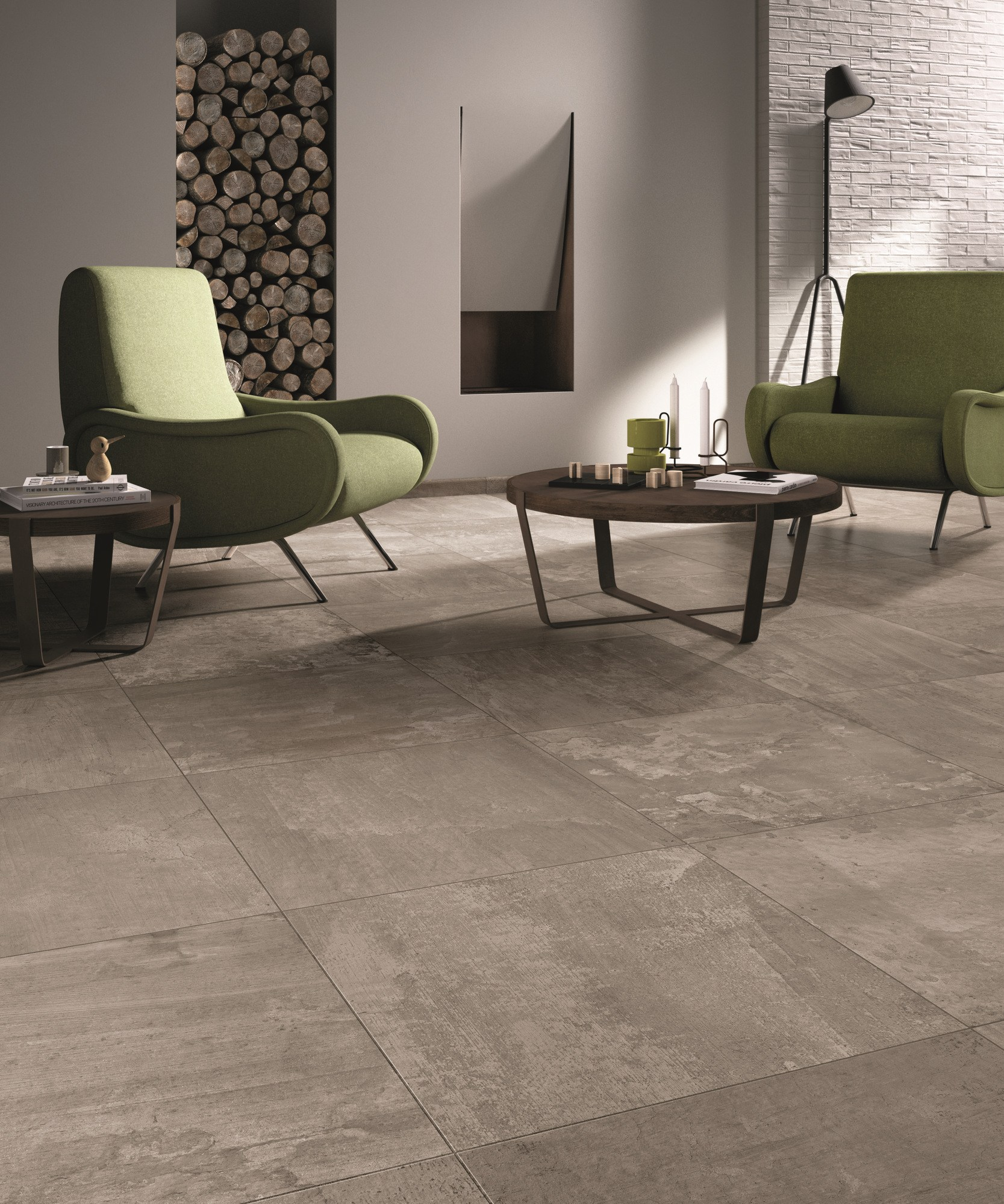 Free gris carrelage silver x rectifi with carrelage for Carrelage salle de bains tendance